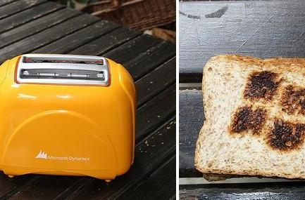 If Microsoft made a toaster...
