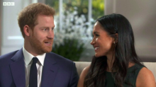 The reason Prince Harry knew Meghan Markle was the one - the Queen's corgis loved her straight away
