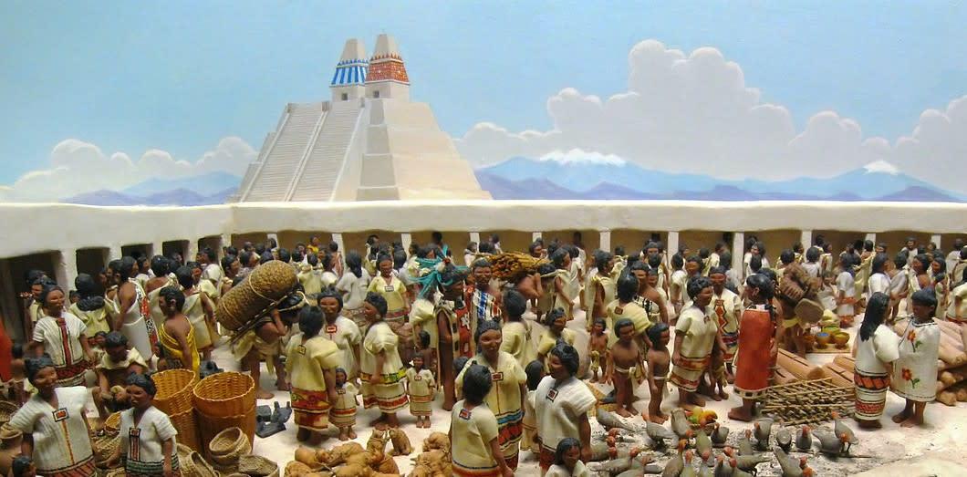 La légende à l'origine de la civilisation aztèque