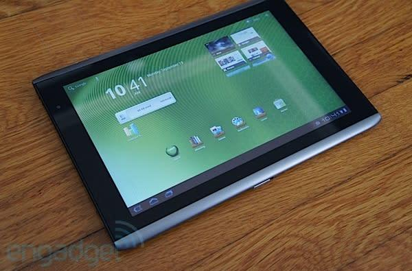 Acer Iconia Tab A501 for AT&T review