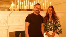 Aamir Stops By Gauri Khan's Design Space for Coffee and Friendship