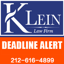 The Klein Law Firm Reminds Investors of Class Actions on Behalf of Shareholders of SWI, JFU and EH