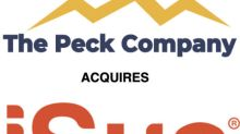 The Peck Company Holdings to Acquire iSun Energy LLC, Award-Winning Solar-Powered Electric Vehicle Infrastructure Provider and Clean Energy Product Innovator