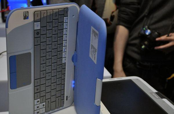 Intel's new convertible Classmate PC hands-on