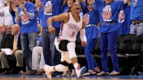 Russell Westbrook's circus shot helps knock out L.A.