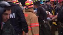 Construction worker rescued from 15-foot trench in Queens