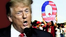 New Yahoo News/YouGov poll: Half of Trump supporters believe QAnon's imaginary claims