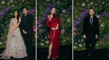 Janhvi Kapoor, Sara Ali Khan Glam up Dinesh Vijan's Reception