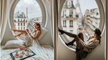 Esta es la ventana con vistas a la Torre Eiffel que enamora en Instagram