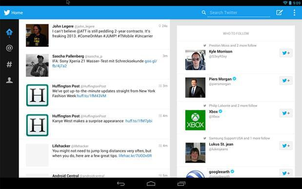 Tablet-optimized Twitter app leaks after IFA, works best on 10-inch screens