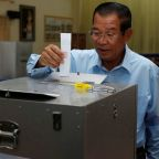 Cambodia's ruling party sweeps Senate election after crackdown