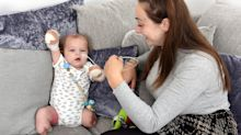 Baby loses his limbs to sepsis following an undiagnosed throat infection