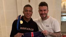 PSG  : Kylian Mbappé a pris son petit-déjeuner avec David Beckham