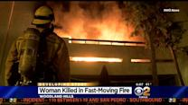 Foul Play Not Suspected In Woodland Hills Condo Fire