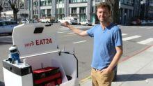 San Francisco degusta sus primeras comidas entregadas por robots