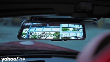 【開箱圖輯】區間測速也抓得住! Abee快譯通R116 GPS觸控電子後視鏡超清晰開箱!