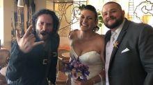 Keanu Reeves Has Casually Been Crashing Weddings