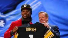 With the 30th pick the Pittsburgh Steelers select…