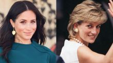 Meghan Markle just wore Princess Diana's most iconic, un-royal trend