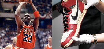 MJ's sneakers set to obliterate auction record