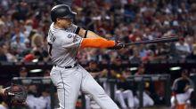 Giancarlo Stanton hits 57th homer, sets Marlins RBI record