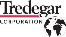 Tredegar Reports Second Quarter 2020 Results