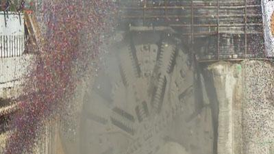 Raw Video: Miami Tunnel project at halfway point