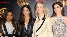 Sandra Bullock Dazzles in Red Carpet Appearance With 'Ocean's 8' Co-Stars at CinemaCon