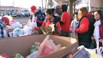 Bringing Thanksgiving to Sandy victims