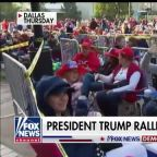 Trump goes after 'radical Democrats' at Texas rally