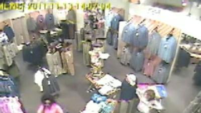 Police: Shoplifter Caught On Camera