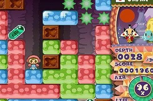Dig into some footage of WiiWare's Mr. Driller