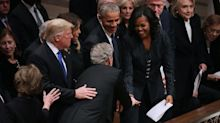 George W. Bush Snuck Michelle Obama a Piece of Candy During His Father's State Funeral