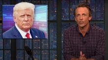 Meyers on Woodward tapes: Trump is 'dumb enough to confess something so cartoonishly evil'