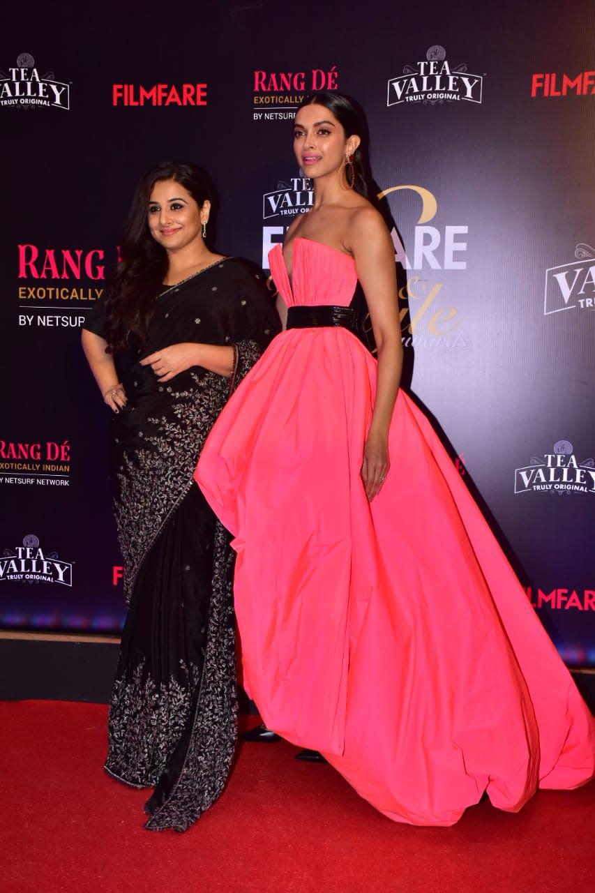 Zoom in! Deepika Padukone, Vidya Balan's recent picture is ...