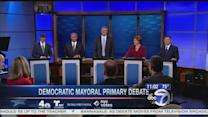 Democratic candidates for mayor face off in final debate