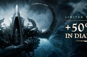 Stop the Reaper of Souls with 50% bonus XP weekend in Diablo 3