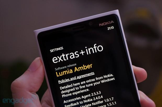 Nokia Amber update arriving on Lumia devices: camera improvements, Glance Screen, and plenty more (updated)