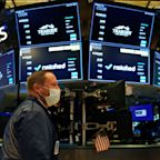 Stock market news live updates: Dow erases earlier gains to close lower, pulling back from an intraday record high as earnings roll in