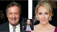 Piers Morgan says he's 'cut his son out of his WILL' after heated JK Rowling feud