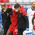 Canada's Alphonso Davies damages ankle ligaments with Bayern Munich