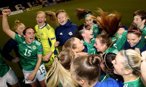 Northern Ireland edge Wales to Euro 2022 play-off place as Scotland crash out