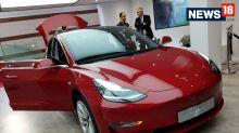 Paris Motor Show 2018: Tesla Model 3 All-Electric Sedan Showcased - Image Gallery