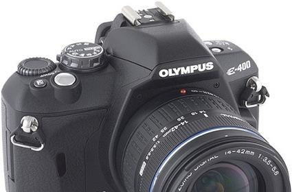 Olympus E-400 DSLR announced and previewed