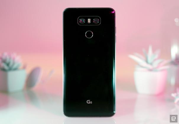 Amazon discounts LG's G6 if you accept Prime ads