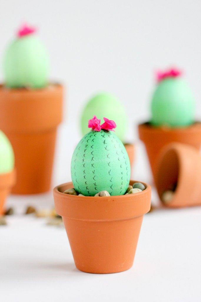 55 Easy And Creative Easter Egg Decorating Ideas That