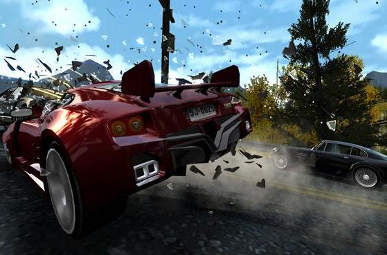 Burnout Dominator finds a home on the web