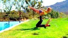 Britney Spears deja a sus fans boquiabiertos con sus habilidades como gimnasta