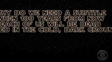 'Star Wars: Episode IX': Stephen Colbert thinks Werner Herzog should replace Colin Trevorrow (watch)