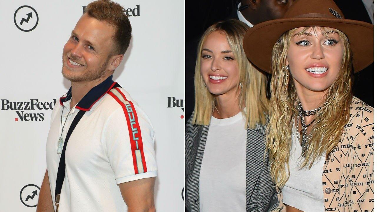 Spencer Pratt Says Kaitlynn Carter and Miley Cyrus 'Had a